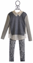 Tru Luv Sweater and Lace Legging Set for Tweens (10)