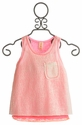 Tru Luv Tween Pink Margarita Top (Size 12)