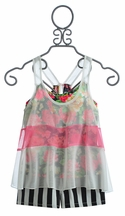 Truly Me Chiffon Tank Top with Shorts (Size 7 & 14)