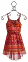 Truly Me Geo Print Tween Dress (Size 10)