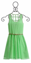 Truly Me Mint Dress for Tweens (Size 7)
