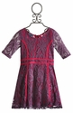 Truly Me Purple Lace Girls Dress
