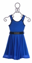 Truly Me Royal Blue Girls Dress