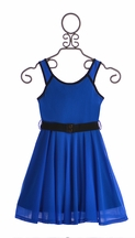 Truly Me Royal Blue Girls Dress (14 & 16)