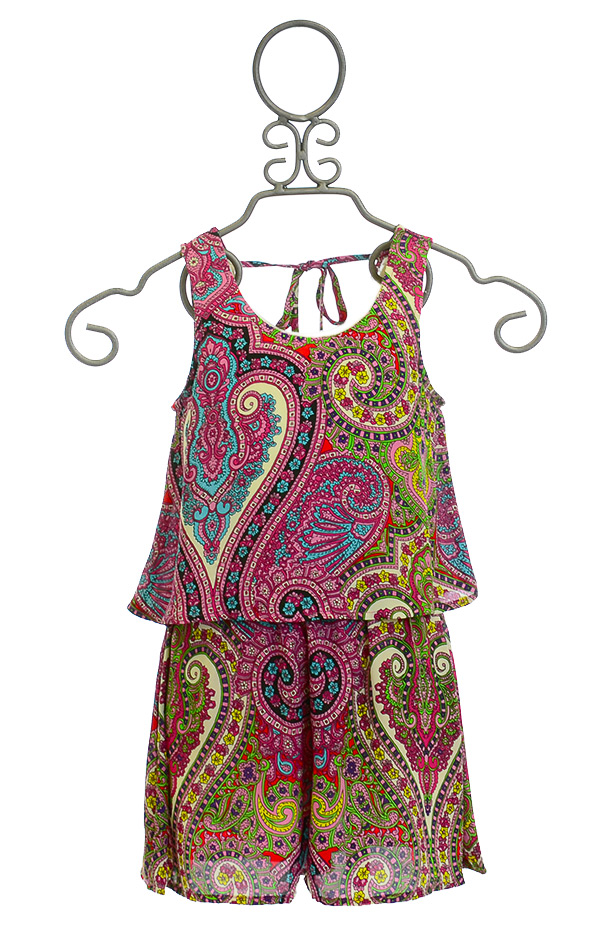 Truly Me Spring Tween Romper Magnolia SOLD OUT