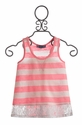 Truly Me Stripe Tween Top with Lace