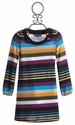 Truly Me Striped Tween Sweater Dress