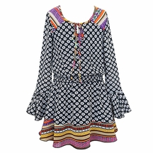 Truly Me Tween Dress with Bell Sleeves