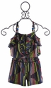 Truly Me Tween Girls Striped Romper