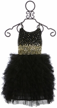 Tutu Du Monde Black Tutu Dress Star Studded (Size 2/3)