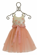 Tutu Du Monde Fly Away Tutu Dress in Peony Peach