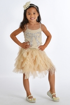 Tutu Du Monde Girls Holiday Skirt Set Crystal Bow
