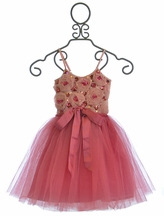 Tutu Du Monde Girls Party Dress in Goddess Pink (Size 4/5)