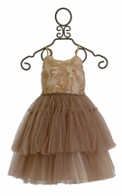 Tutu Du Monde Harvest Tutu Dress in Mocha