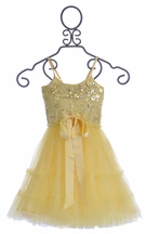 Tutu Du Monde Holiday Girls Dress Lemon Sundance (Size 8/9)