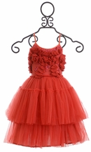 Tutu Du Monde Red Dress Very Merry Tutu (2/3,4/5,6/7)