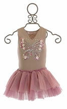 Tutu Du Monde Wings of Truth Onesie Dress with Butterfly