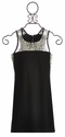 Un Deux Trois Black Special Occasion Tween Dress (14 & 16)