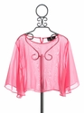 Un Deux Trois Chiffon Top for Girls Pink