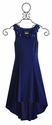 Un Deux Trois Girls Special Occasion Dress Cobalt Blue (Size 7 & 8)
