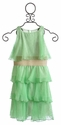 Un Deux Trois Mint Green Girls Dress