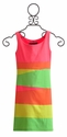 Un Deux Trois Tween Girls Color Block Dress