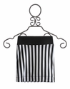 Un Deux Trois Tween Girls Skirt Black and White Stripe (LG 14 & XL 16)