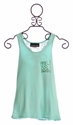 Un Deux Trois Tween Girls Tank Top Lace Back