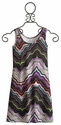 Un Deux Trois Tween Sleeveless Dress Jazzy Stripe (Size 7)