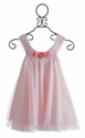 Victoria Kids Pink Tulle Party Dress for Little Girls
