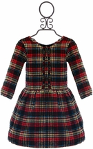 Vierra Rose Plaid Dress for Girls Karina