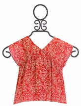 Vintage Havana High Low Tween Top (SM7/8,MD10,LG12)