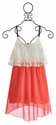 Vintage Havana Tween Dress with Lace