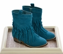 Volatile Kids Ankle Boot with Fringe