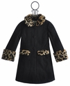 Widgeon Faux Fur Trim Girls Fancy Coat