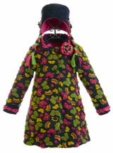 Widgeon Girls Coat Butterfly with Hat (4 & 5)