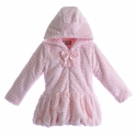 Widgeon Girls Couture Hooded Coat with Bow