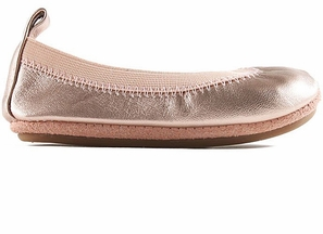 Yosi Samra Flats for Girls Rose Gold