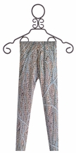 Zara Terez Fashionable Pearl Printed Leggings for Girls (LG 14 & XL 16)