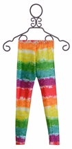 Zara Terez Girls Rainbow Cake Striped Leggings (Size XL 12/14)