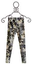 Zara Terez Puppy Leggings Black and White