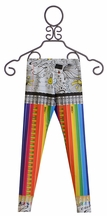 Zara Terez Rainbow Pencil Leggings for Girls (MD 10 & LG 10/12)