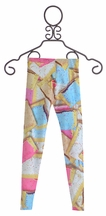 Zara Terez Tween Leggings in Toaster Pastry Pattern (Size XL 16)