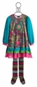 ZaZa Couture Beatrix Little Girls Dress with Tights