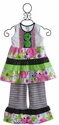 ZaZa Couture Girls Boutique Capri Set