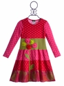ZaZa Couture Girls Pink Flower Dress (12 Mos, 24 Mos, 2T)