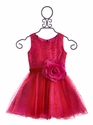 Zoe LTD Red Dot Party Dress for Girls