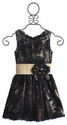 Zoe LTD Tween Black Special Occasion Dress
