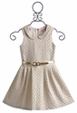 Zoe LTD Tween Party Dress Peter Pan Gold