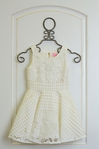 Zoe LTD White Lace Dress Gracie